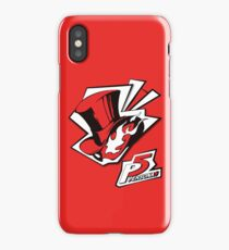 Persona 5 - Logo iPhone Case/Skin