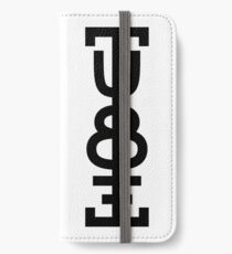 NDVH The Tube iPhone Wallet/Case/Skin