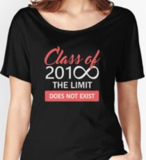 Class of 2018 - The Limit Does Not Exist Women's Relaxed Fit T-Shirt