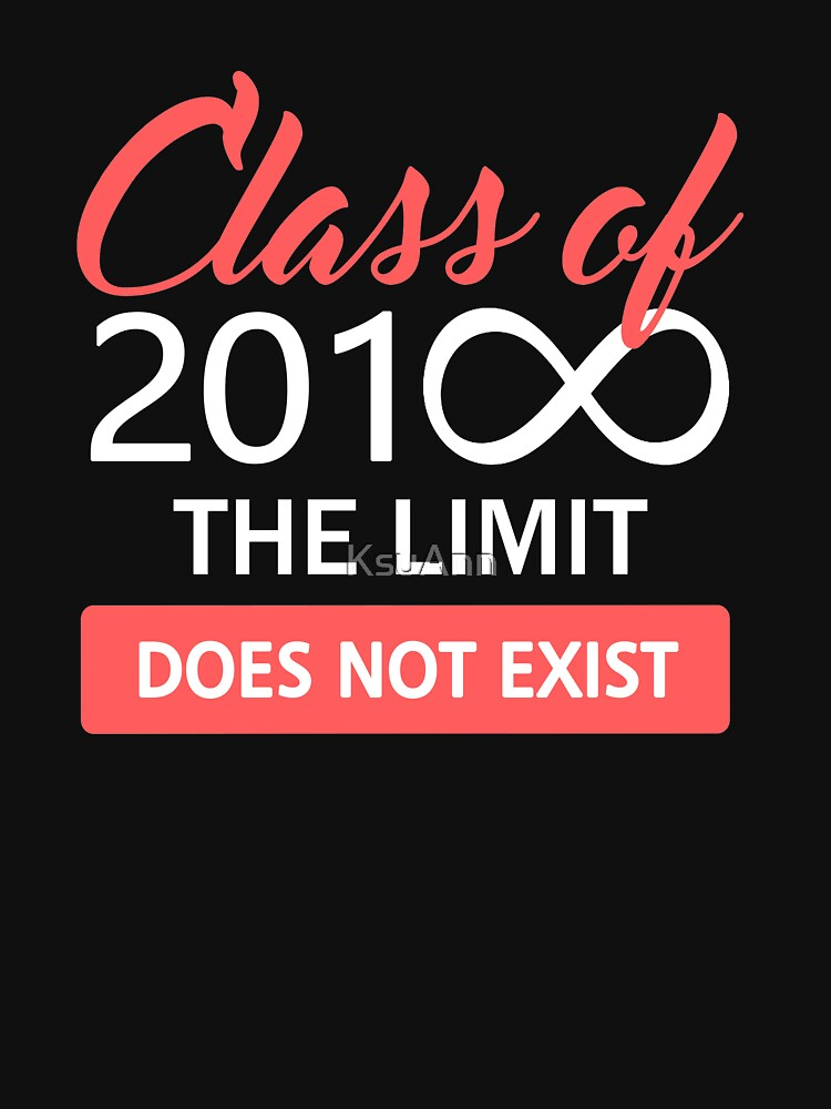 Class of 2018 - The Limit Does Not Exist by KsuAnn