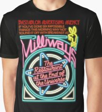 NDVH Milliways - the Restaurant at the End of the Universe Graphic T-Shirt