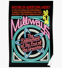 Milliways - the Restaurant at the End of the Universe Poster