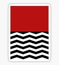 Twin Peaks - Red Room Sticker