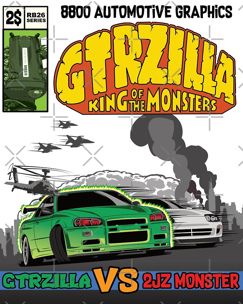 GTRZILLA R34 (1 of 2 VERSION) by 8800ag