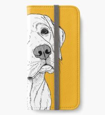 Labrador Dog Portrait iPhone Wallet/Case/Skin
