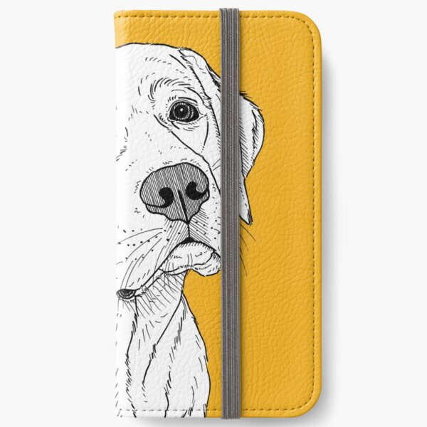 Labrador Dog Portrait iPhone Wallet