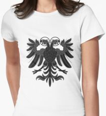 Sacred Roman Empire Eagle Womens Fitted T-Shirt