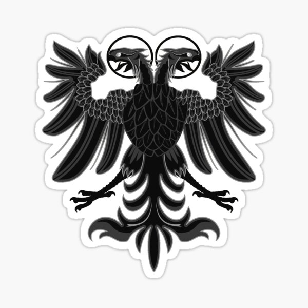 4x poland eagle polish flag decals sticker polska scooter car vinyl luggage