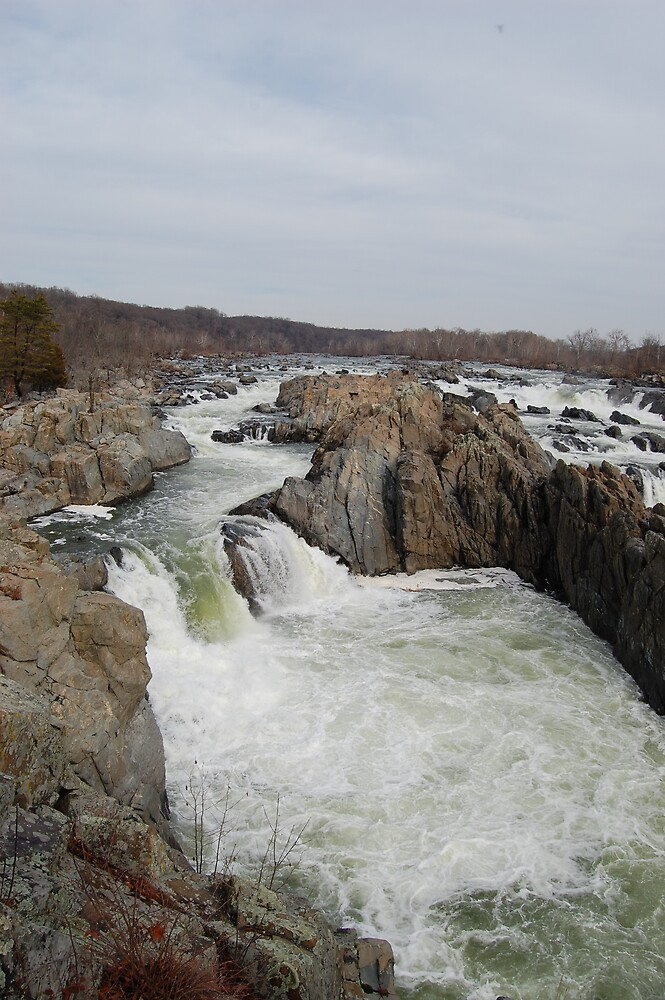 Great Falls by wvcaver
