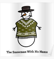 The Snowman With No Name Poster