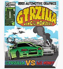 GTRZILLA R34 (2 of 2 VERSION) Poster