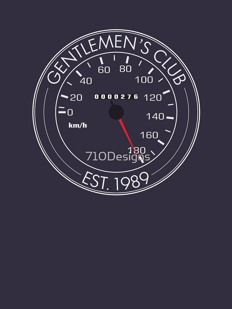 Japanese car Gentlemen's agreement  by 710Designs