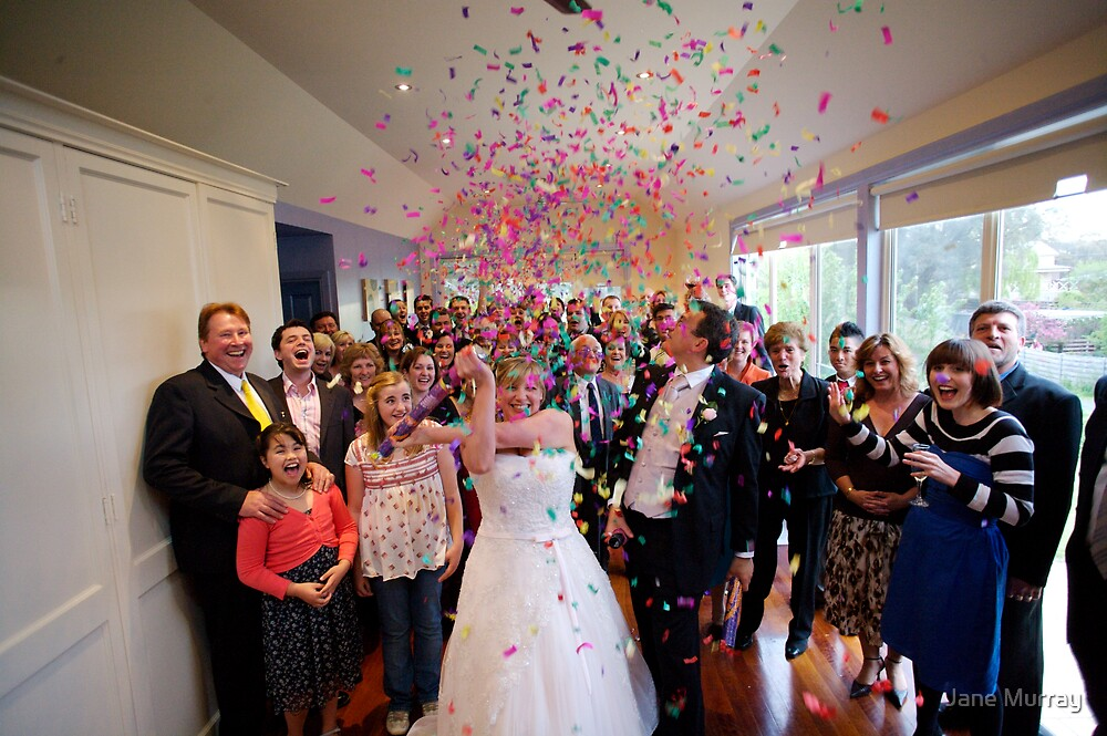Daylesford wedding 2007 BANG! by Jane Murray