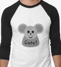 Cute! Men's Baseball ¾ T-Shirt