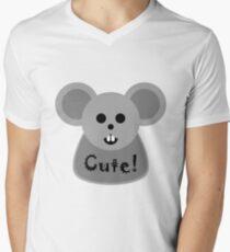Cute! Men's V-Neck T-Shirt