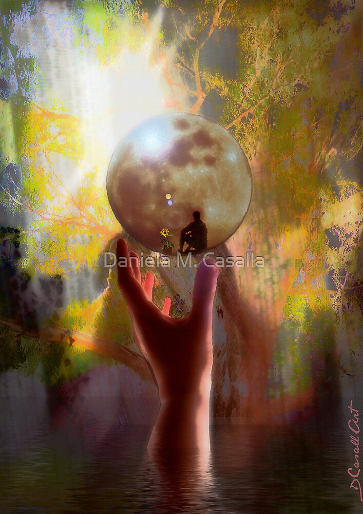 Inner Peace  by Daniela M. Casalla