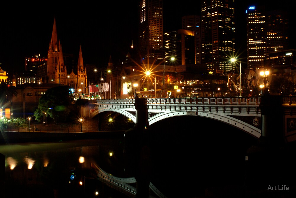 Melbourne by Night! by WayneD