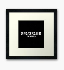 Spaceballs - The Merchandise Framed Print