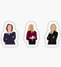 Gillian Anderson // TV Characters (Minimalist) Sticker