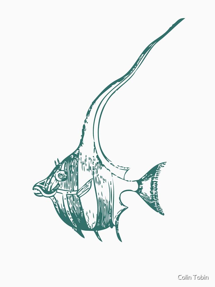 Vintage Fish 1881 by colintobin