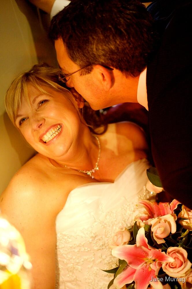 Daylesford wedding 2007  .. big smiles by Jane Murray