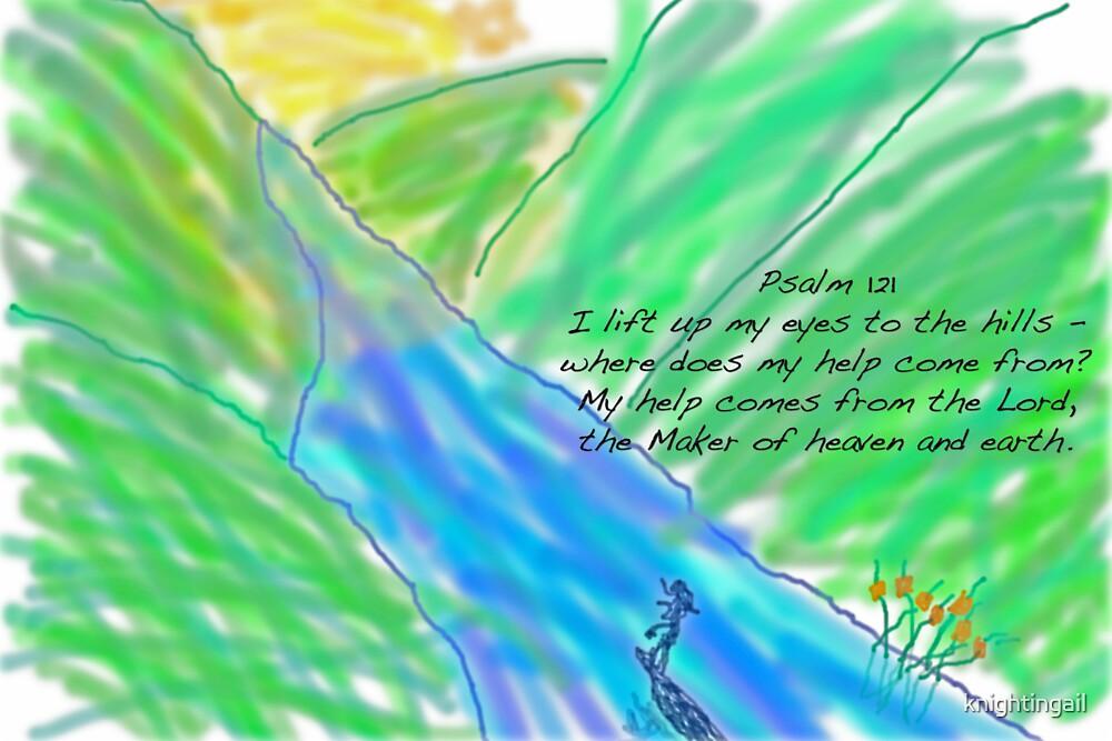 Psalm 121 by knightingail