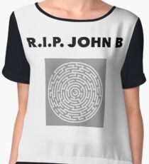 RIP John B - Labyrinth  Chiffon Top