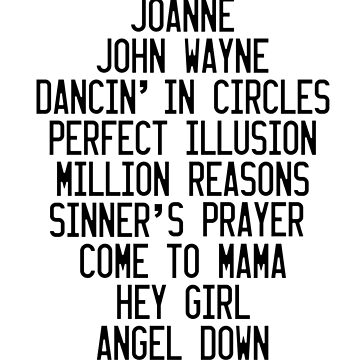 JOANNE Tracklist by ThomasItsMe
