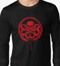 Hydra logo splatter Long Sleeve T-Shirt