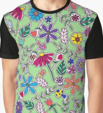 Bee Garden Graphic T-Shirt