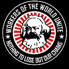 KARL MARX - WORKERS UNITE by Calgacus