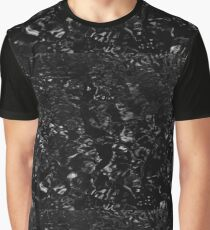 Black | Water | Solid Graphic T-Shirt