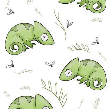 Chameleons by annahannah
