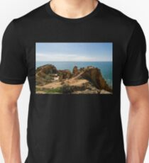 Location Location Location - the Toilet with the Most Spectacular Setting in the World Unisex T-Shirt