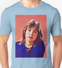 David Cassidy, Hollywood Legend. Digital Art by MB Unisex T-Shirt