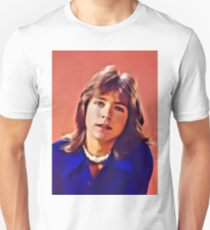 David Cassidy, Hollywood Legend. Digital Art by MB Unisex T-Shirt