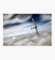 Spitfire solo  Photographic Print