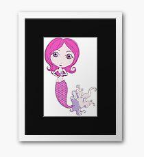 I Heart Mermaids - 1st of 4 Framed Print