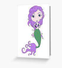 I Heart Mermaids - 2nd of 4 Greeting Card