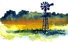 A lonely windmill by Elizabeth Kendall