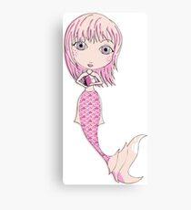 I Heart Mermaids - 4th of 4 Canvas Print