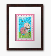 Daydreams Really Do Come True - Light Pink Hair Version Framed Print
