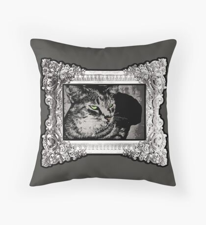 Feeling Catty Throw Pillow