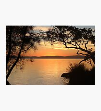 Super Sunset at Magical Myall Photographic Print