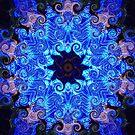 Kaleidoscope Star Swirls by steelwidow
