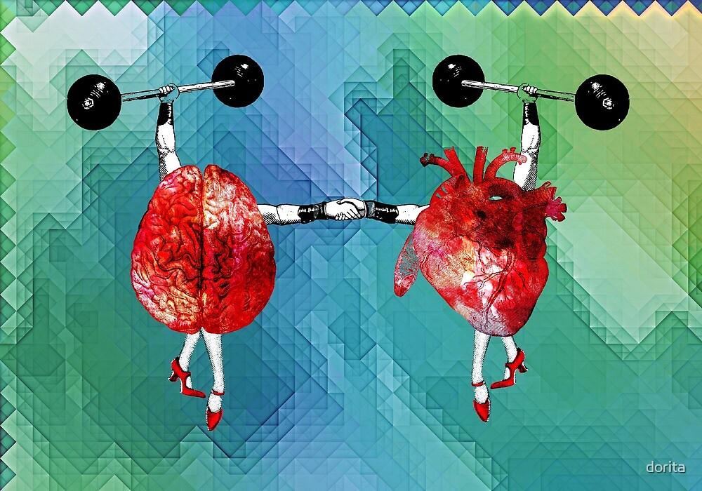 Heart and Brain - Herz und Verstand by dorita