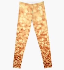 gold Leggings