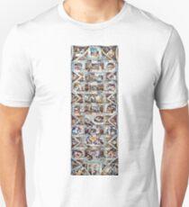 Sistine Chapel Ceiling - Version 2 Unisex T-Shirt