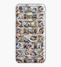 Sistine Chapel Ceiling - Version 2 iPhone Case/Skin
