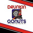 Drunkin Go Nuts Darts Team by mydartshirts